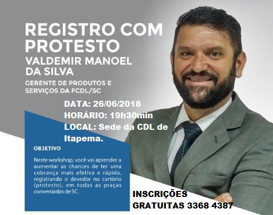 WORKSHOP-PROTESTO